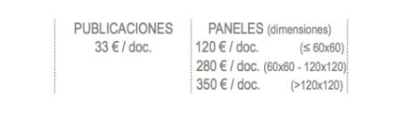 tabla precios licencias