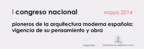 I Congreso nacional arquitectura