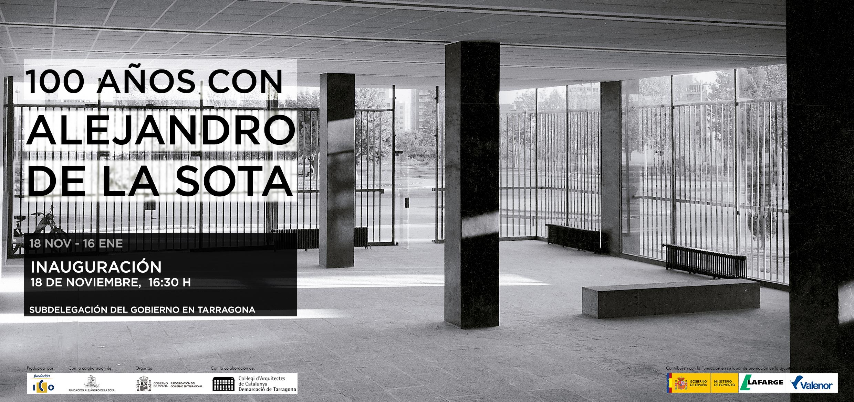 Invitación_Tarragona_100 años con Alejandro de la Sota